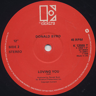 Donald Byrd and 125th Street, N.Y.C. / Love Has Come Around (12