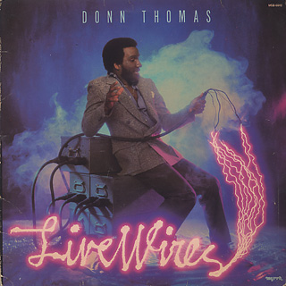 Donn Thomas / Live Wires front
