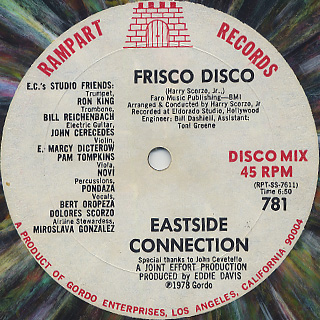 Eastside Connection / Frisco Disco c/w Birthday Medley