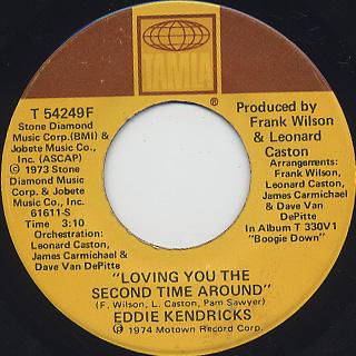 Eddie Kendricks / Tell Her Love Has Felt The Need back