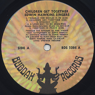 Edwin Hawkins Singers / Children (Get Together) label