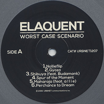 Elaquent / Worst Case Scenario label