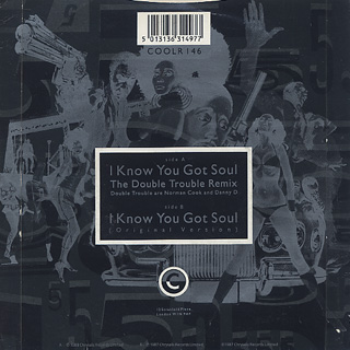 Eric B. And Rakim / I Know You Got Soul (The Double Trouble Remix) back