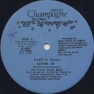 Erotic Drum Band / Action '78 Part 2 - Remix