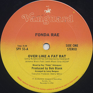 Fonda Rae / Over Like A Fat Rat (12