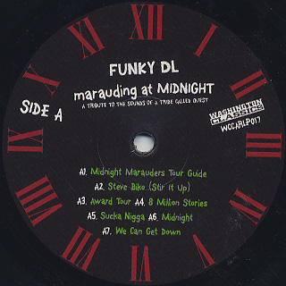 Funky DL / Marauding At Midnight: A Tribute To The Sounds Of A Tribe Called Quest label