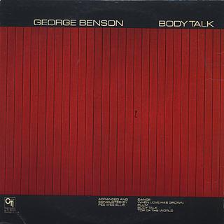 George Benson / Body Talk back