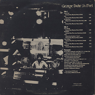 George Duke / Feel back