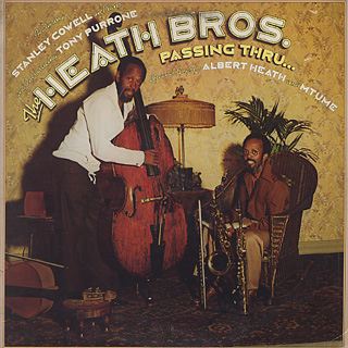 Heath Bros. / Passing Thru... front
