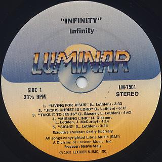 Infinity / Infinity label
