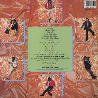 Isley Brothers / Between The Sheets back