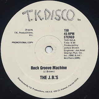 J.B.'s / Rock Groove Machine c/w Rock