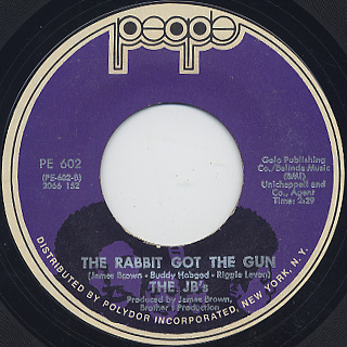 JB's / Gimme Some More c/w The Rabbit Got The Gun back