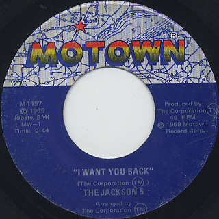 Jackson 5 / I Want You Back front