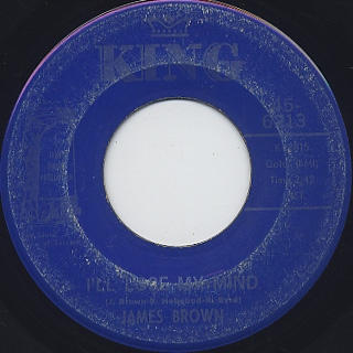 James Brown / Give It Up Or Turnit A Loose c/w I'll Lose My Mind back