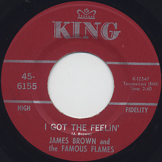 James Brown and The Famous Flames / I Got The Feelin'