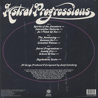 Josef Leimberg / Astral Progressions back