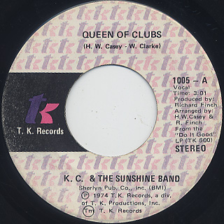 K.C. & The Sunshine Band / Queen Of Clubs