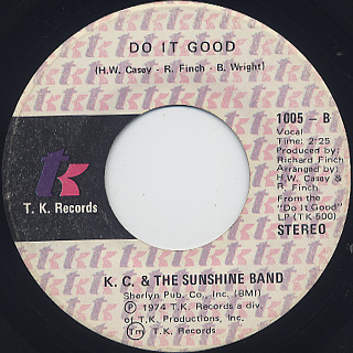 K.C. & The Sunshine Band / Queen Of Clubs back