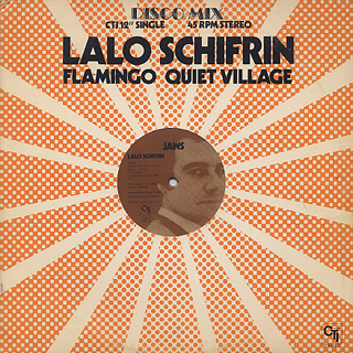 Lalo Schifrin / Jaws label