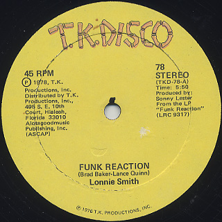 Lonnie Smith / Funk Reaction