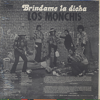 Los Monchis / Brindame La Dicha back