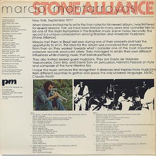 Marcio Montarroyos, Stone Alliance / S.T. back