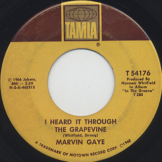 Marvin Gaye / I Heard It Through The Grapevine (7
