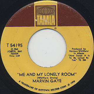 Marvin Gaye / The End Of Our Road back