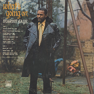 Marvin Gaye / What's Going On back