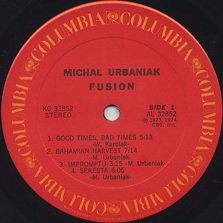 Michal Urbaniak / Fusion label