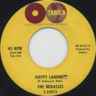 Miracles / You've Really Got A Hold On Me back