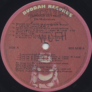Modulations / It's Rough Out Here label