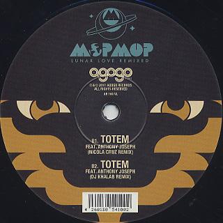 Mop Mop / Lunar Love Remixed back