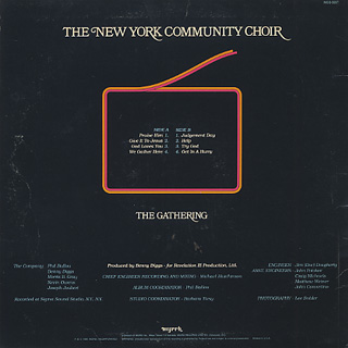 New York Community Choir / The Gathering back