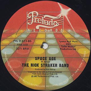 Nick Straker Band / A Little Bit Of Jazz back