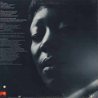 Norma Jenkins / Patience Is A Virtue back
