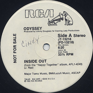 Odyssey / Inside Out front