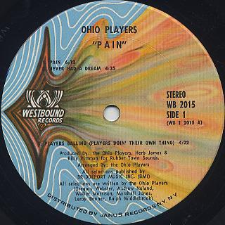 Ohio Players / Pain label