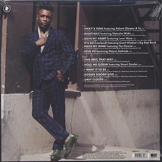 Omar / Love In Beats (LP) back