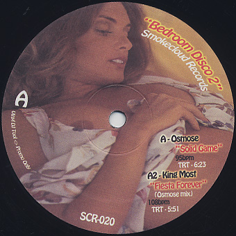 Osmose, King Most, The Silver Rider / Bedroom Disco 2 back