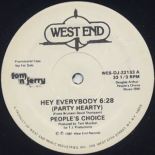 People's Choice / Hey Everybody