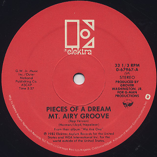 Pieces Of A Dream / Mt. Airy Groove (12