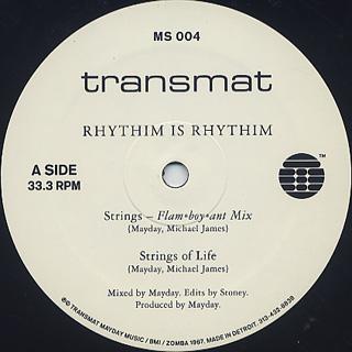 Rhythim Is Rhythim / Strings Of Life