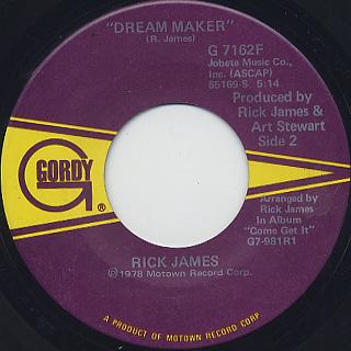 Rick James / Mary Jane (45) back