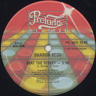 Sharon Redd / Beat The Street
