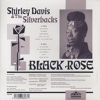 Shirley Davis & The Silverbacks / Black Rose back