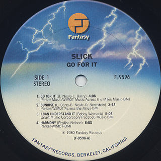Slick / Go For It label