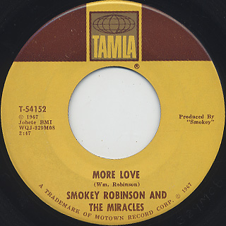 Smokey Robinson And The Miracles / Swept For You Baby (7