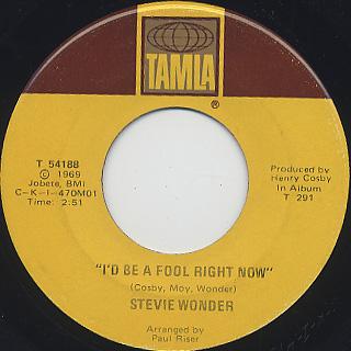 Stevie Wonder / Yester-Me, Yester-You, Yesterday back